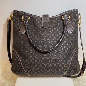 Auth Louis Vuitton Monogram Mini Lin Busa Tote Bag